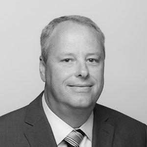 Mark McKinney headshot in black and white